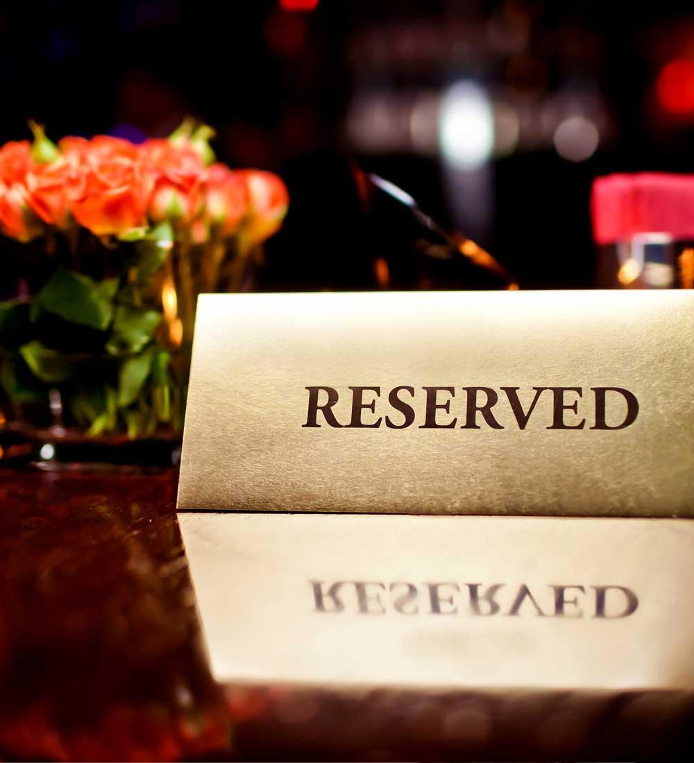 Restaurant Booking Concierge Services Kamilia Lahbabi