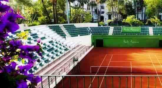 Playing Tennis in Costa del Sol