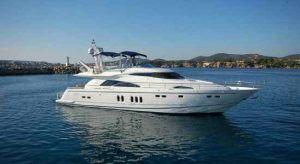 Fairline Squadron Luxury Yacht Marbella