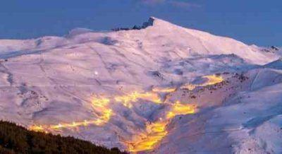 Skiing in Sierra Nevada - Granada