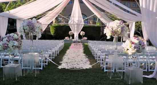 A dream wedding in a polo club